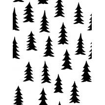Tapet - Spruce - White