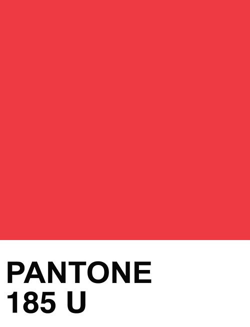 Pantone color Coated 185 C to RGB, Hex, RAL, HSL, HSV