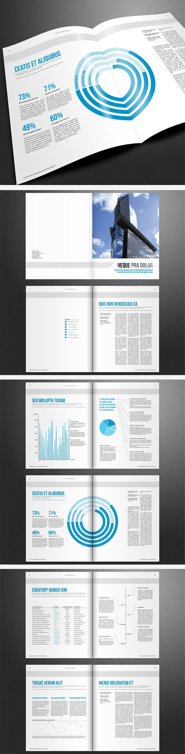 Best Brochures Product Corporate Minimalistic Images On