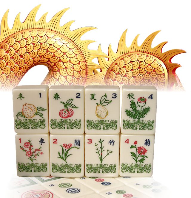 Red Dragon Tile : Best images about cards mahjhong and shang hai oh my