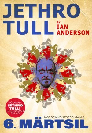 Legendaarisen brittiläisyhtyeen Jethro Tullin laulajana toiminut Ian Anderson esittää Nordea Kontserdimajassa 6.3. yhtyeen musiikkia. Progressiivisen rockin jätin hitit ovat mannaa faneille. #eckeröline #tallinna