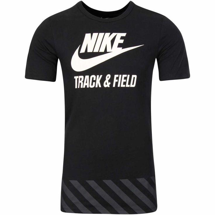 Køb Nike Futura Track & Field T-shirt - Herre i Sort online  Str, XL