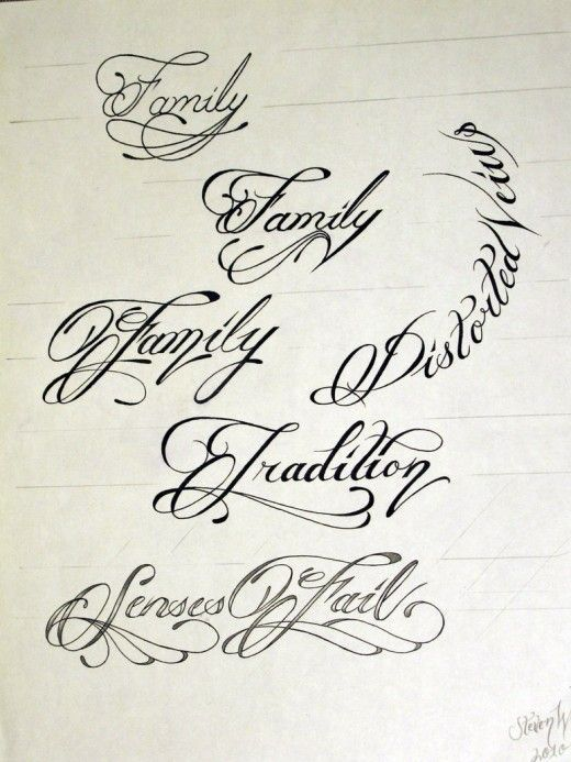 Fancy Cursive Tattoo Fonts Generator | 11 Tattoo Script | tattoo