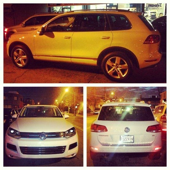 2013 Volkswagen Touareg starting at $475/month