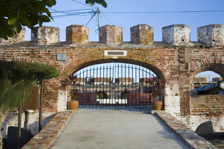 Fort Charles, Kingston - The only of Port Royal's 6 forts to survive the massive 1692 earthquake that sunk a chunk of the town.