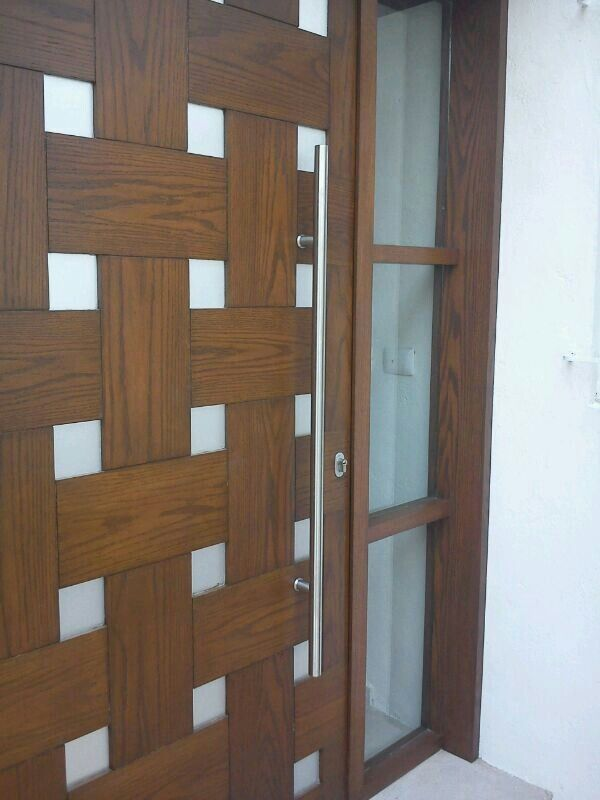 33 best images about puerta de acceso on pinterest for Puertas para patio exterior