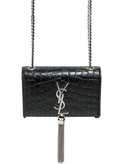 monogrammed clutch purses - ysl black leather bag
