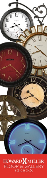 Fabulous Clocks from Howard Miller. Incomparable workmanship. Unsurpassed quality. A quest for perfection. It's what Howard C. Miller insisted on when he founded the company back in 1926, at the age of 21.