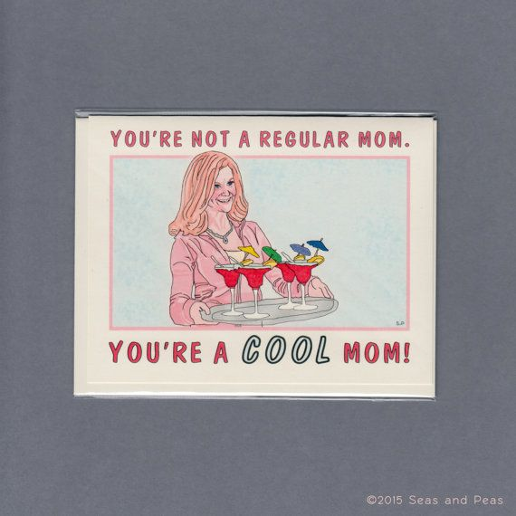 Cool (Not Cheesy) Mother's Day Cards From Etsy | StyleCaster