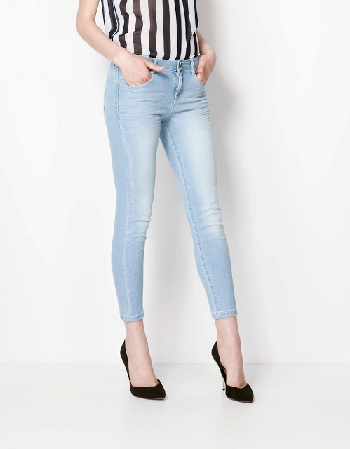 buz mavisi kot pantolonBershka Holland, A Mini-Saia Jeans, Bershka Ukraine, Bershka Indonesia, 499 199K Bershka, Bershka Enkelhoogt, Ankle Jeans, Jeans Bershka, Bershka 2013