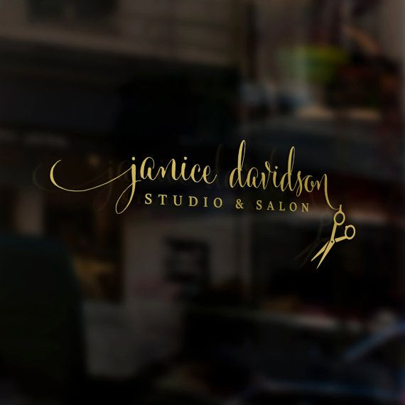 Hey, I found this really awesome Etsy listing at https://www.etsy.com/listing/266199028/pre-made-logo-hair-stylist-studio-beauty
