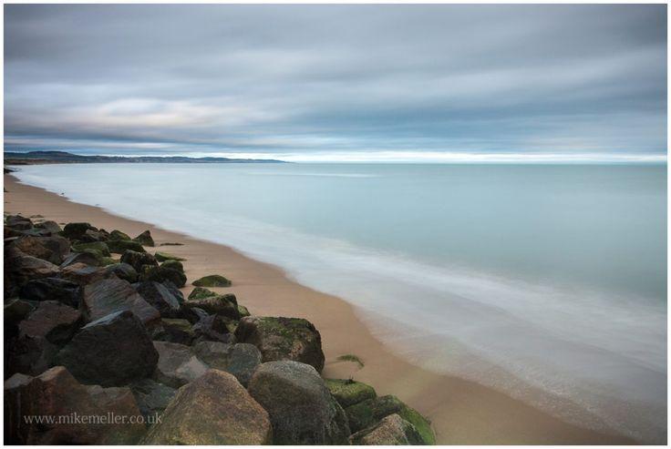 Montrose Beach, SCOTLAND. North Sea Landscape Photography.