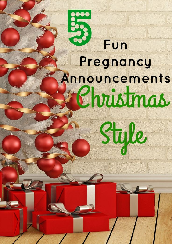 The holidays are a great time to share your big news about your growing family! Check out our favorite Christmas pregnancy announcement ideas!