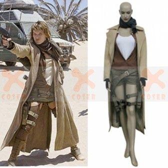 Resident Evil Extinction Movie Alice Cosplay Costume