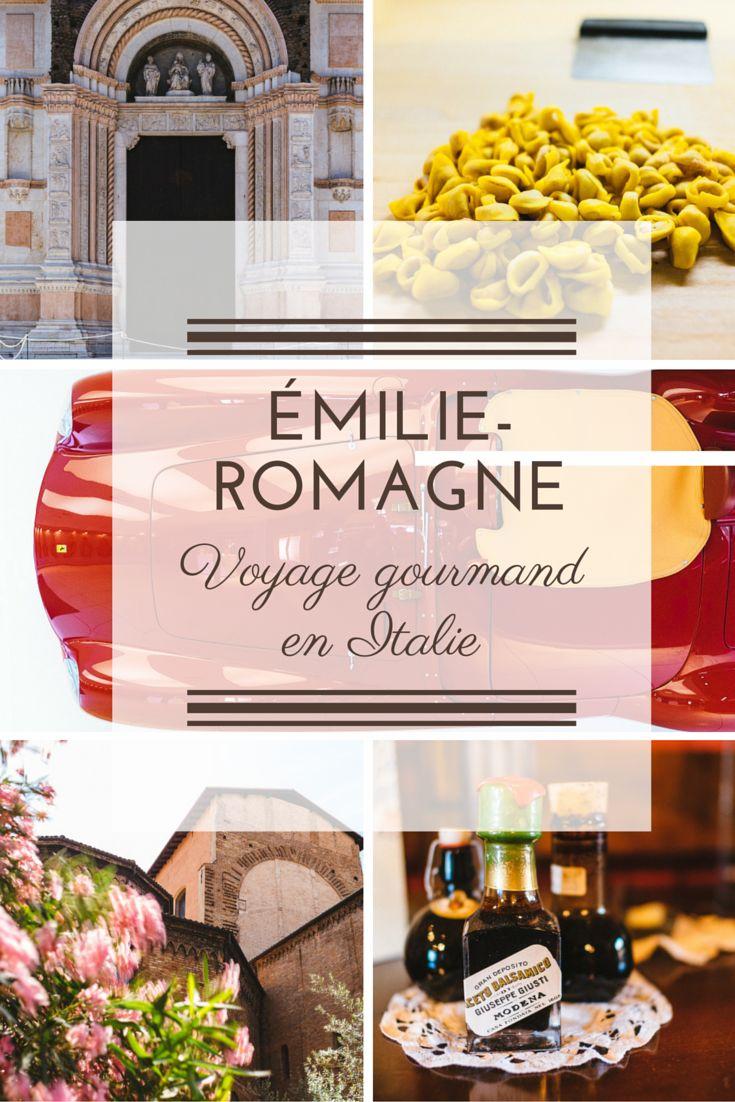 Pour votre prochain voyage en Italie, pensez à la région plutôt méconnue de l'Emilie-Romagne: Bologne, Ravenne, Modène, Parma... Vous y découvrirez autant de quoi satisfaire votre appétit de découvertes, de culture et de nature que votre appétit tout court ! ;-)
