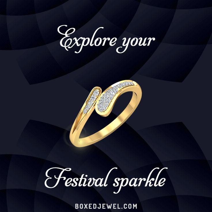 Stories of elegance written in gold and diamond. www.boxedjewel.com #Rings #Jewellery