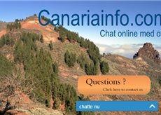 Nu kan du chatte med os direkte på canariainfo