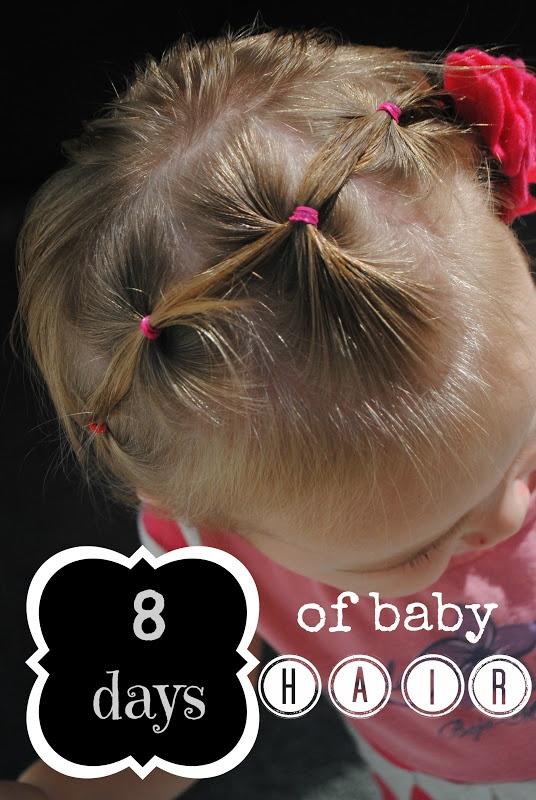 Craft Envy: Eight Days of {Fun} Baby Hair!