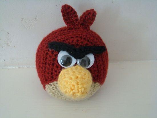 Tutorial Amigurumi Angry Bird : Angry birds boomerang green bird adorable amigurumi crochet