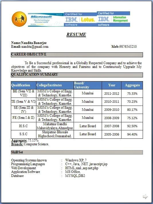 free resume templates doc resume templates doc free