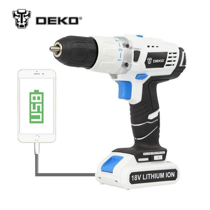DEKO GCD18DU3 18V DC New Design Mobile Power Supply Lithium-Ion Battery Cordless Impact  #mobile #design #new https://seethis.co/6zb0Pk/