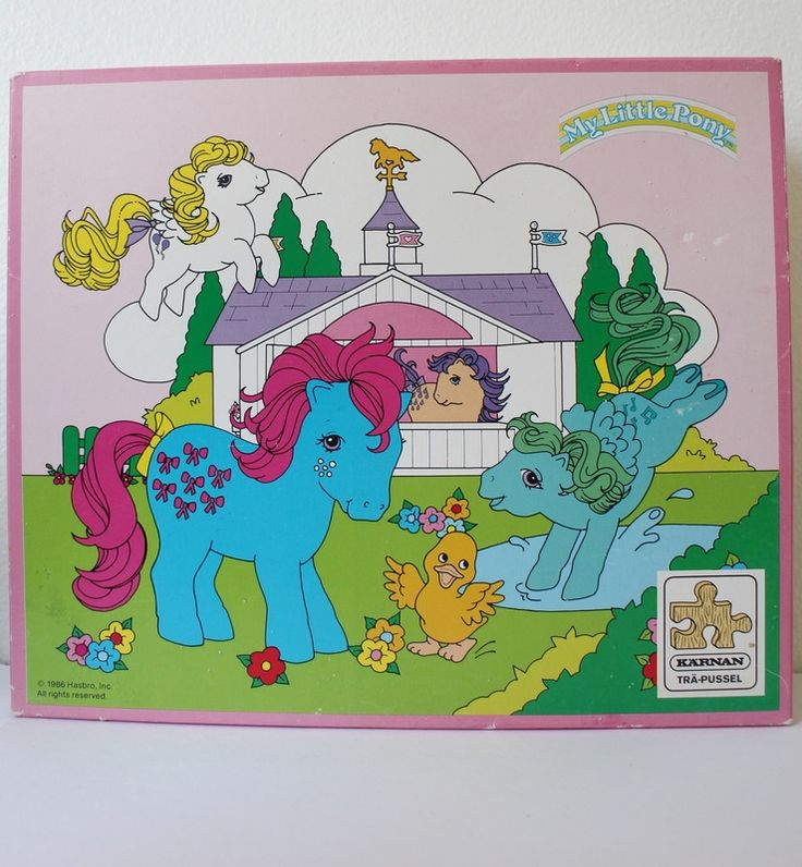 My Little Pony 60 Piece Puzzle from Sweden