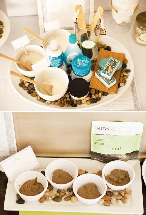 Fresh & Relaxing Spa Party Ideas