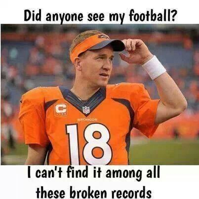 Definitely cheering for the Seahawks all the way, but Peyton Manning is without a doubt the greatest quarterback of all times! Regardless of the outcome today, nothing but respect for this guy!