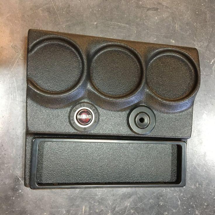 BMW 2002 console gauge/switch/radio panel Bmw 2002
