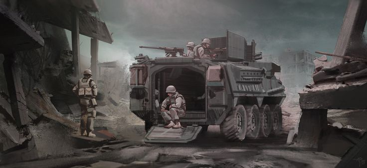 ArtStation - military vehicles pt.2, Alexandre Pinto