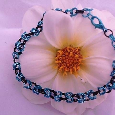 Chain Mail Bracelets #handmade #handmadejewelry #handmadewithlove #supportlocalbusiness #smallbiz http://ift.tt/29YP7f5