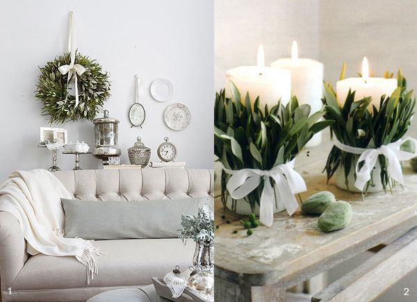 NEUTRAL HEAVEN - Interior Design and Mood Creation: Inspiration from the garden for Christmas