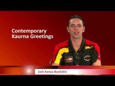 Lesson 2, Contemporary Kaurna Greetings