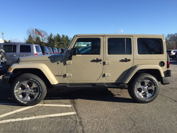 2017 Wrangler Gobi Color Match Top Jeep Jeep Jeep