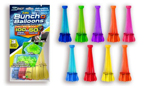 Bunch O Balloons - Water Balloon Games. Will make summer games with water balloons SO much easier!!