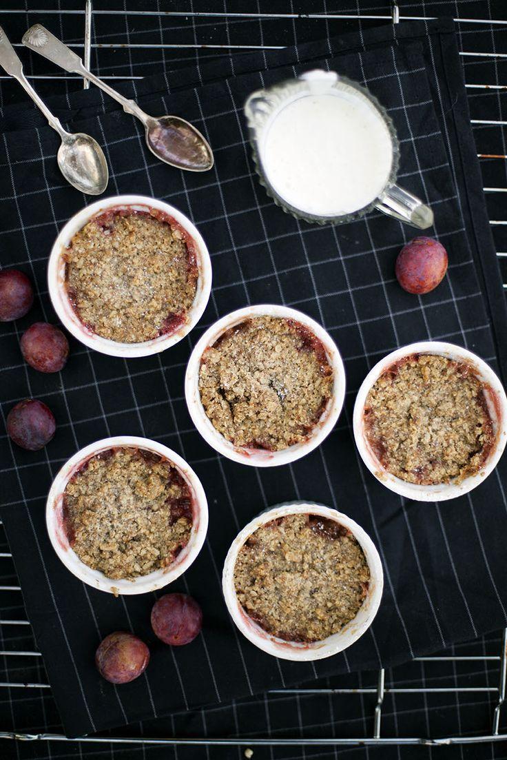 Plommonpaj, receptet hittar du här: http://martha.fi/sv/radgivning/recept/view-93381-4502