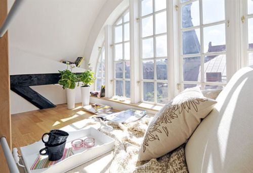 ::: Big Window, Lights, Bedrooms Window, Dreams House, Interiors Design, Loft, Window Seats, Nooks, Dreamhous