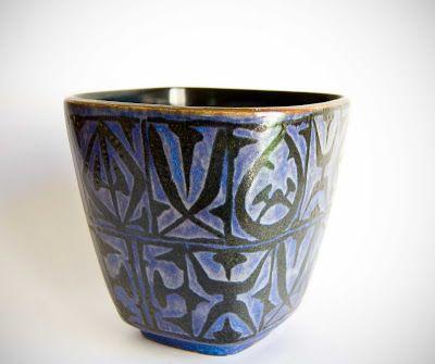 Retro Pottery Net: Nils Thorsson 1898 - 1975, Royal Copenhagen - Alumina, Denmark