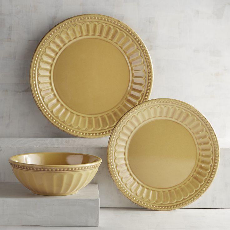 Charlotte Tuscan Yellow Dinnerware