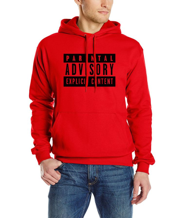 New Explicit Content Parental Advisory sweatshirt Men long Sleeve Hip Hop Man 2017 new fashipon funny hoodies brand tracksuit
