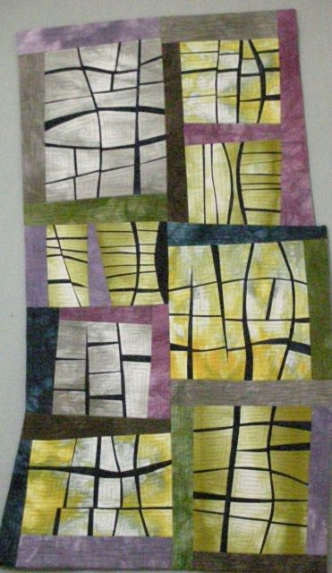 Windowpanes by Karen Johnson. National Juried Show 2015 ~ Canadian Quilters' Association