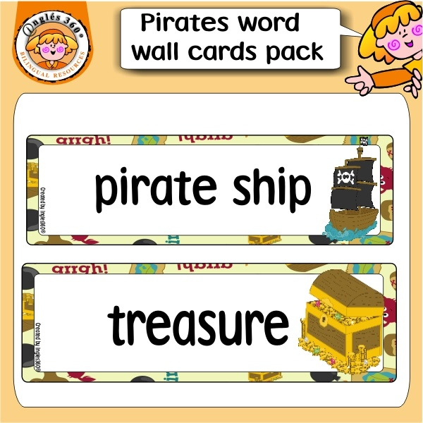 free cards for word wall