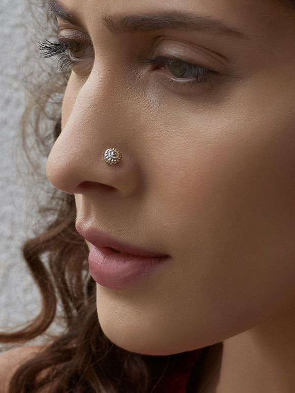 Body Piercing Jewelry Fashion Jewelry Beautiful Indian Nose Ring Nose Piercing Nose Stud Silver Nose Stud Nose Ring Nose Jewelry