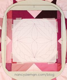 How to Quilt with an Embroidery Machine   Make a Love Knot Quilt   Nancy Zieman