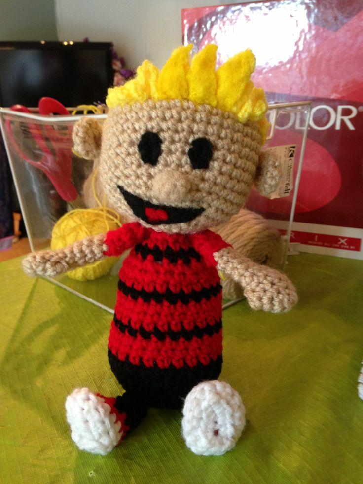 Calvin Crochet iBcraftie Crochet Custom