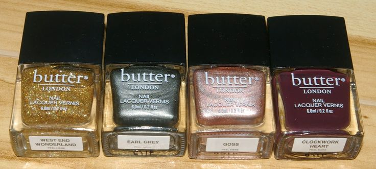 Butter London Goss and Clockwork Heart