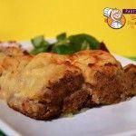 Polpettone di Cotechino ripieno con Provola Affumicata in crosta di Patate, secondo piatto