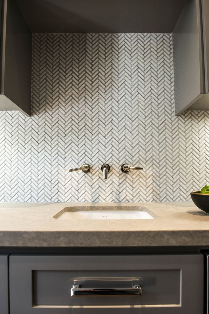 Kitchen Tiles Small 25+ best herringbone backsplash ideas on pinterest | small marble