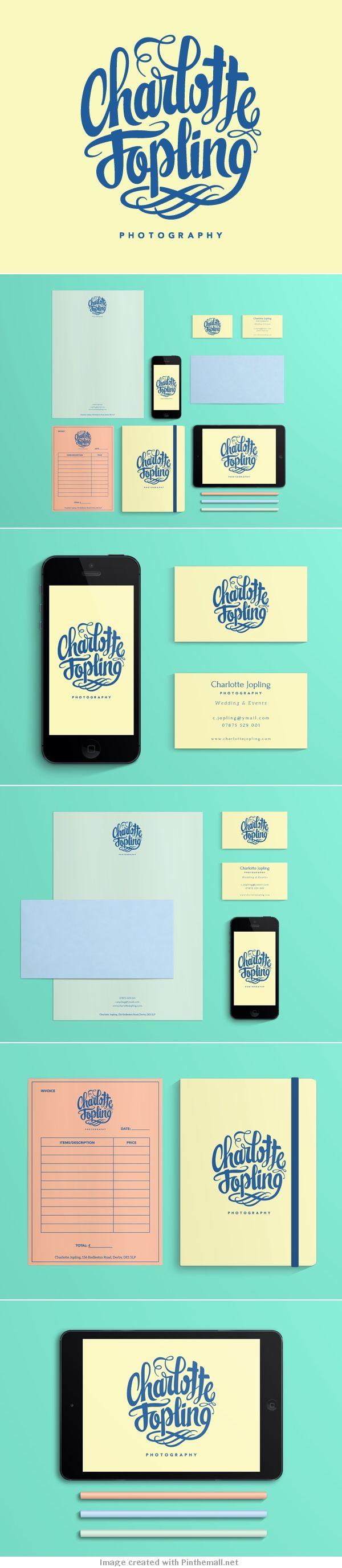 Corporate design letterhead letter business card logo envelop colors graphic