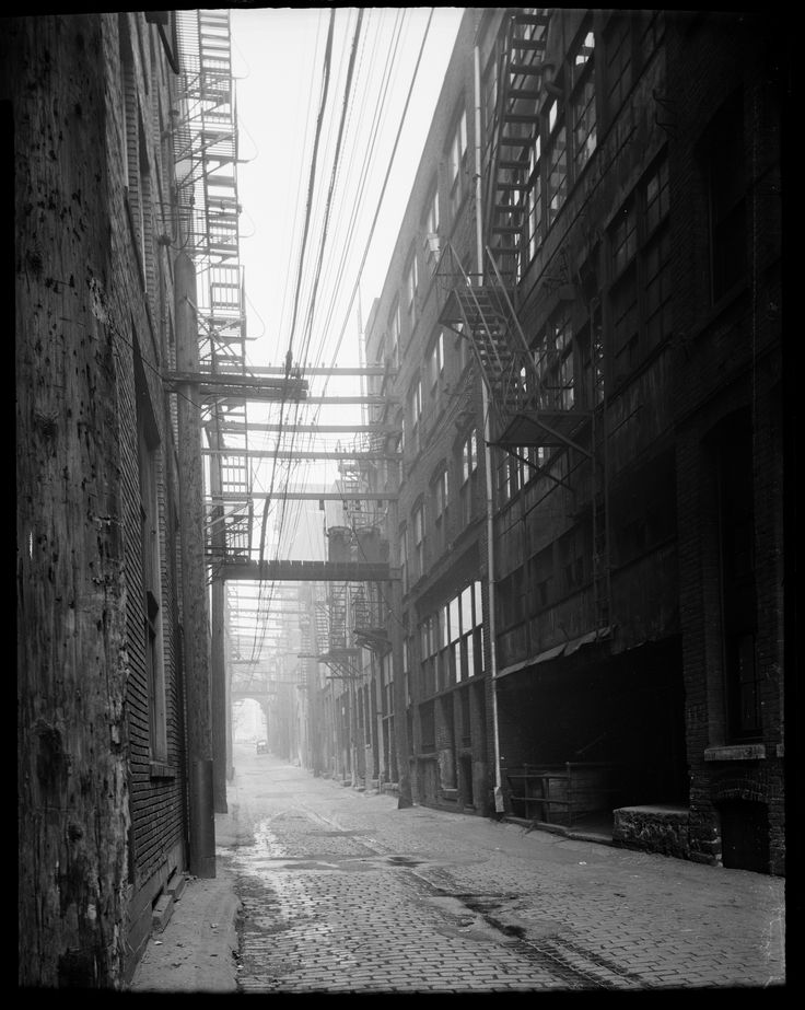 Alley behind the 100 block West Hastings Street VPL Accession Number: 14786 Date: July 23, 1945 Photographer/Studio: Frank, Leonard. http://www3.vpl.ca/spe/histphotos/